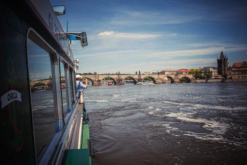 Croisière sur la rivière Vltava avec déjeuner