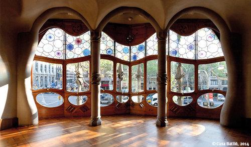 Visite audioguidée pour la Casa Batlló - Coupe-file