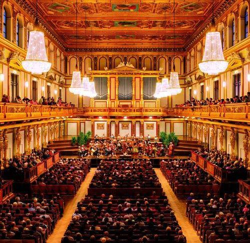 Concert Mozart de Vienne au Musikverein