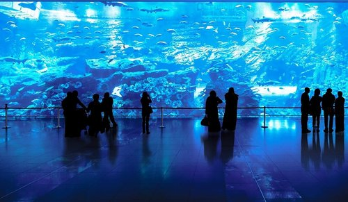 Billet d'entrée au 125 ème étage de Burj Khalifa et l'aquarium de Dubai