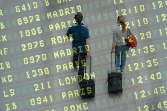 Transfert de départ privé: de l'hôtel à l'aéroport de Belfast
