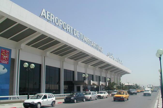Transfert privé de l'aéroport de Tunis Carthage (ATC) vers les hôtels de Hammamet