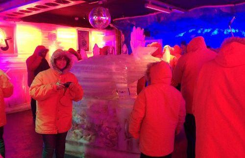 Excursion d'une journée dans un Ice Bar avec dîner dans un restaurant