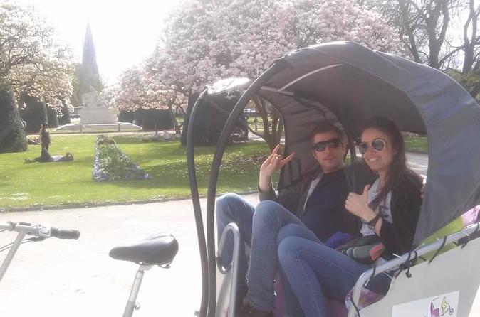 Visite de Strasbourg de 80minutes en vélotaxi