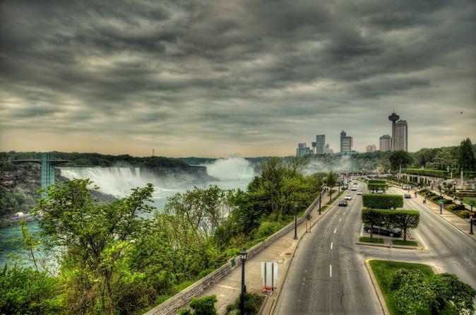 Visite privée et transfert des chutes du Niagara à l'aéroport de Buffalo