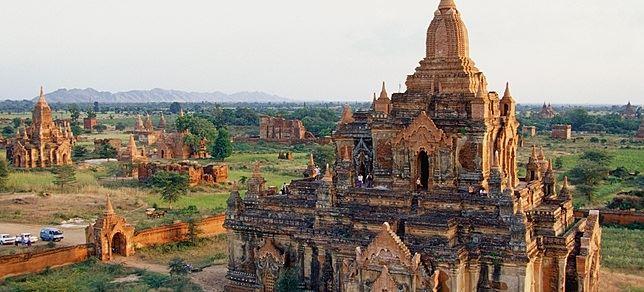 birmanie monuments