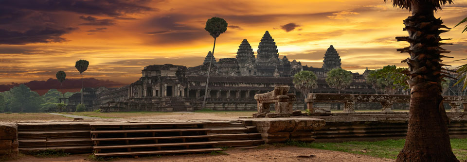 Magnifique temple Angkor Vat