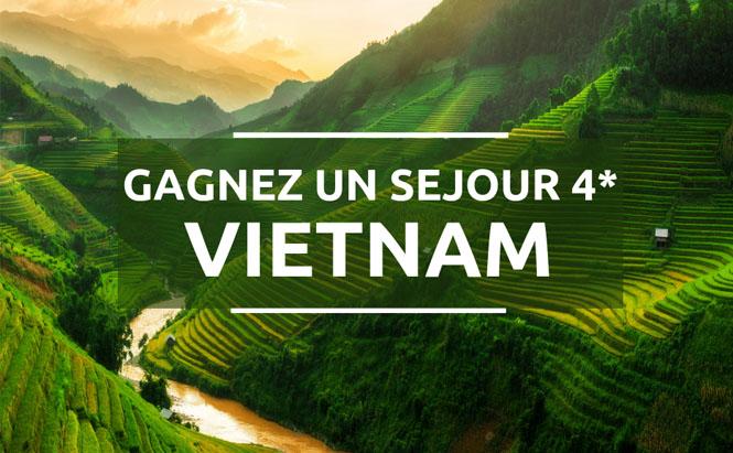 Gagnez un séjour 4* Vietnam