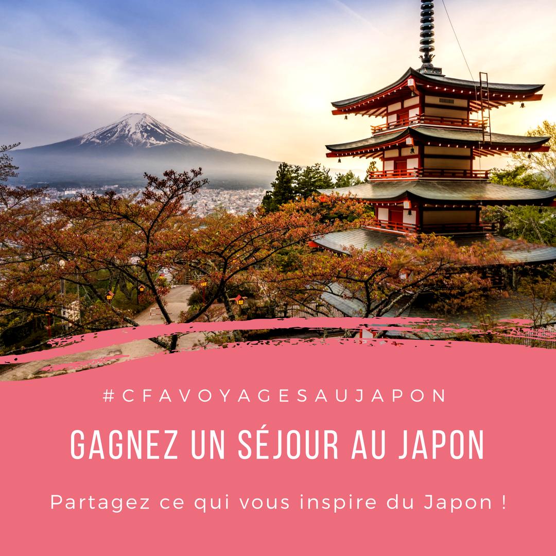Jeu concours séjour au Japon
