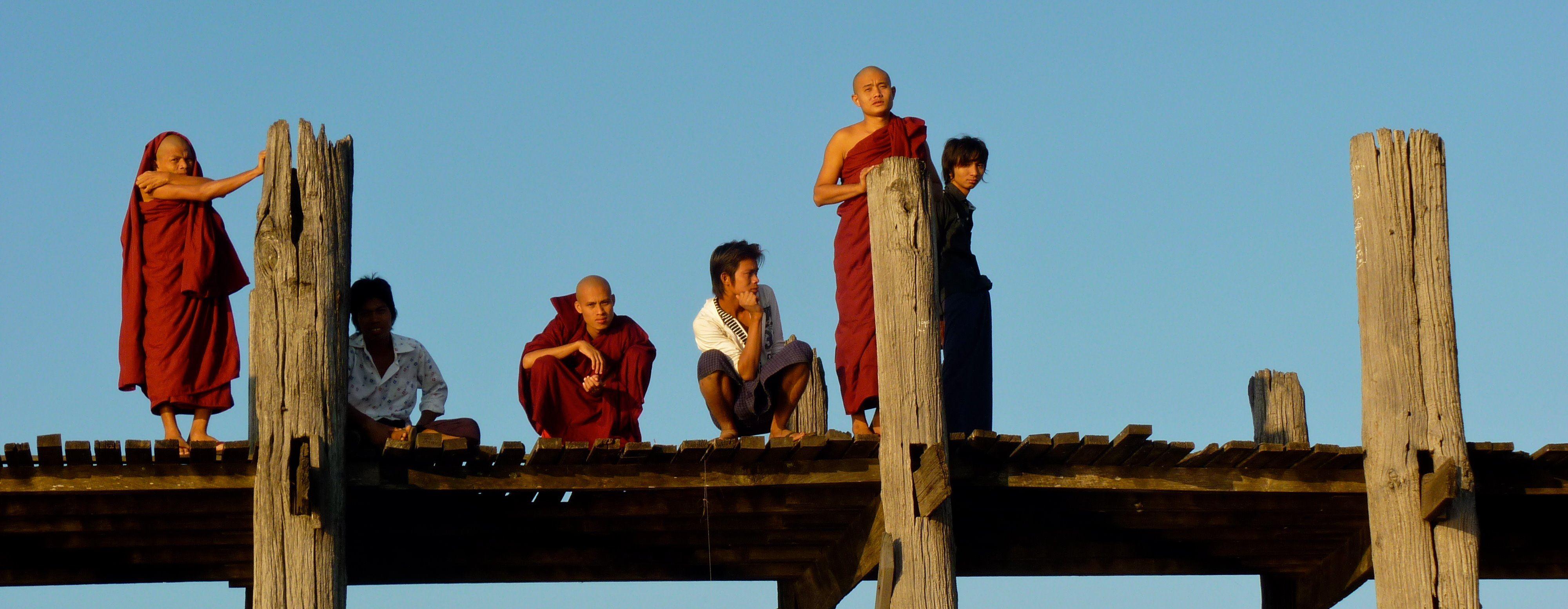 famille en birmanie