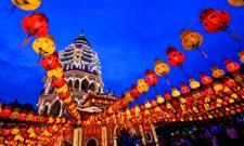 Temple Kek Lok Si à Penang