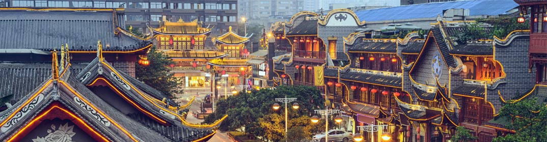 Quartier traditionnel Chengdu
