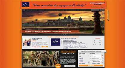 Lancement du site web Cambodge