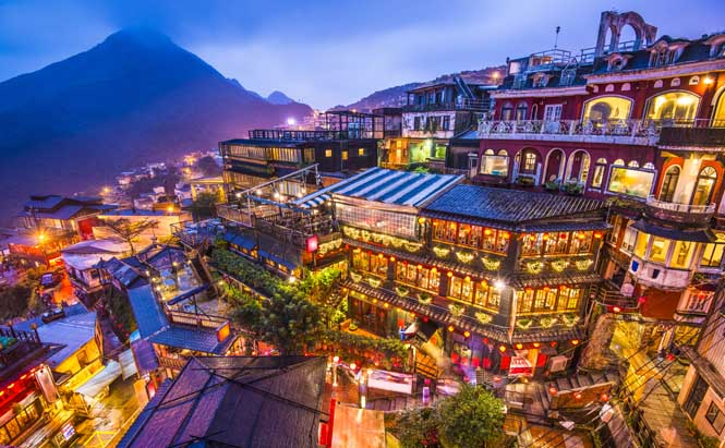 Taiwan-Jiufen-maisons-de-the