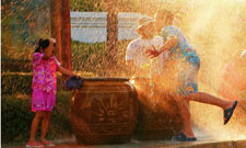 Fête de l'Eau en Birmanie
