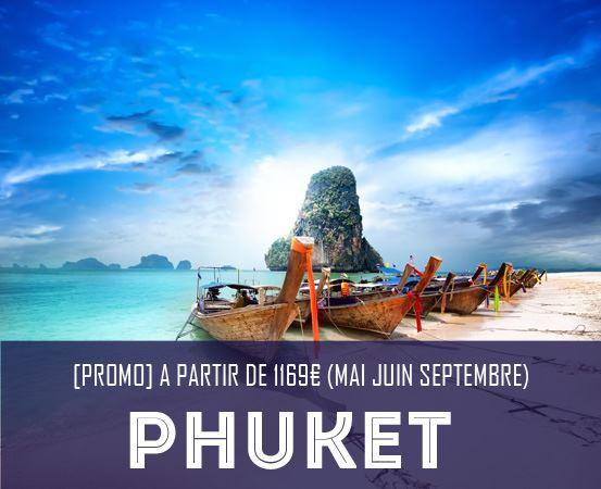Promo Thailande Phuket Krabi iles