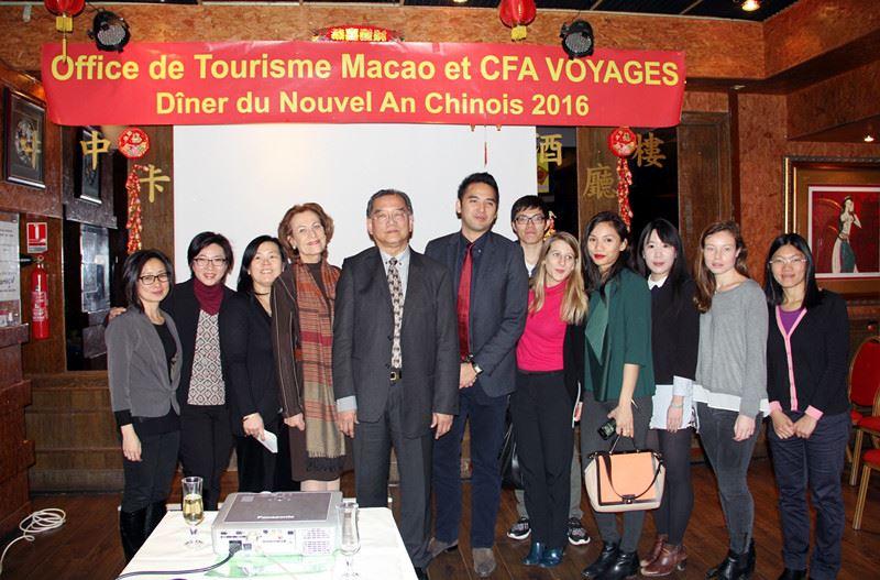 Diner Office du tourisme avec Cfavoyages