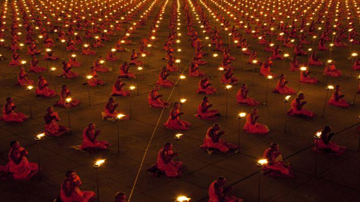 Fete du Magha Puja en Thailande