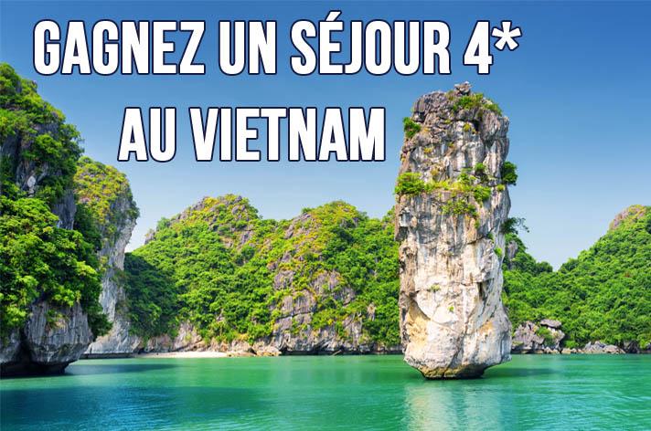 Gagnez un séjour au Vietnam