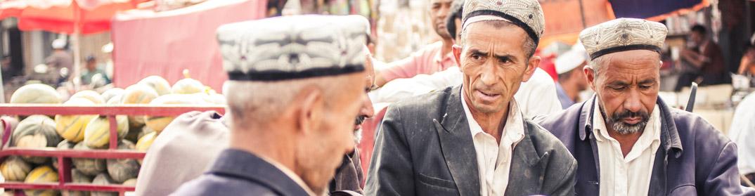 Marché Kashgar