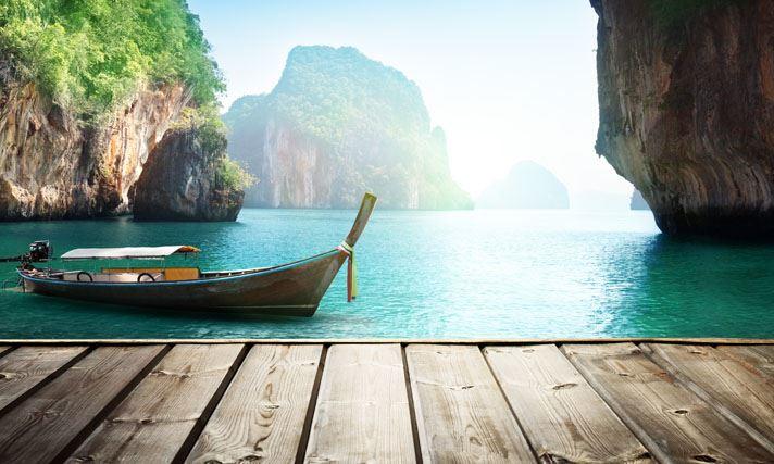 ile pirogue thailande