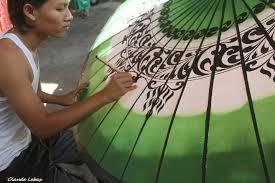 ombrelles birmanie