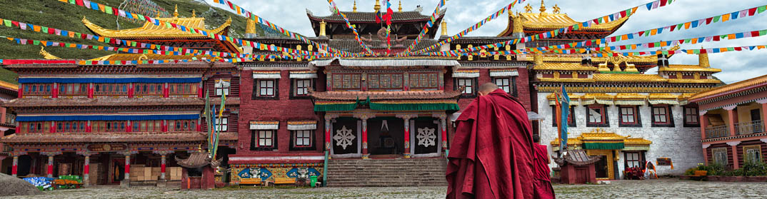 Temple Lhassa Lama