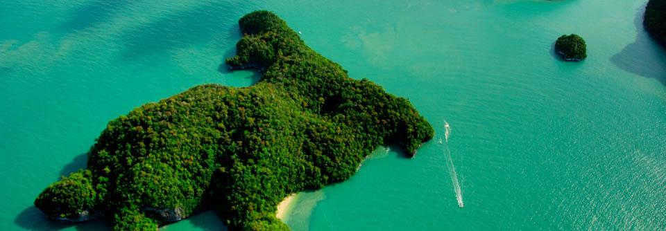 Ile de Lang Kawi, Paradis sur Terre