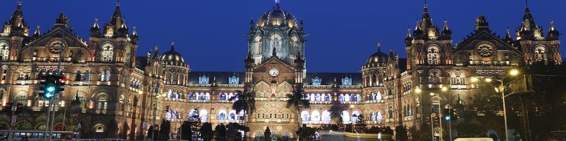 Gare Victoria Mumbai Inde