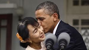 Obama en Birmanie