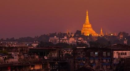 Premières festivités publiques du Nouvel An en Birmanie pour 2013