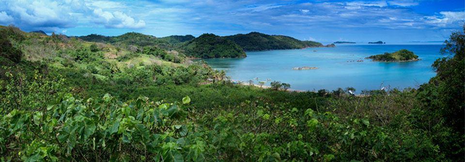 Paysage des Philippines
