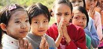 Le peuple Bama en Birmanie