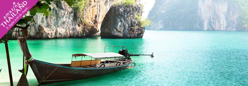 Profitez des plages paradisiaques: Phuket, Koh Sa mui, Krabi, Khao Lak, Pattaya