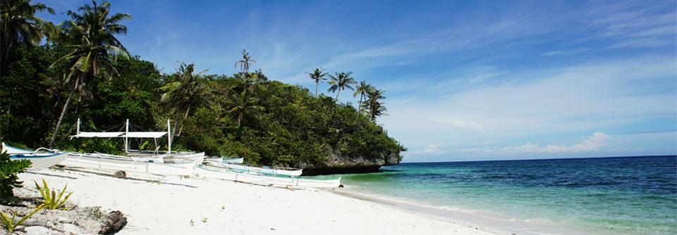 Plage idyllique aux Philippines