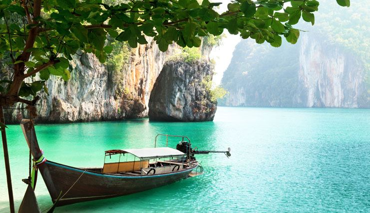 plage paradisiaque thailande
