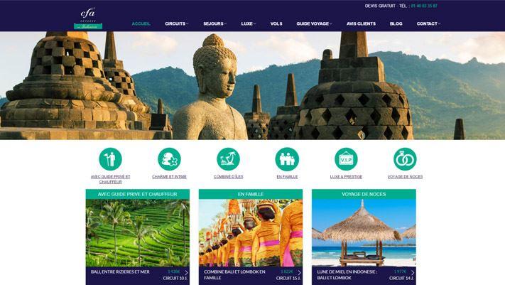 Site Indonésie