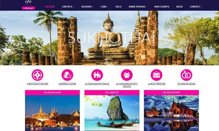 Nouveau site thailande