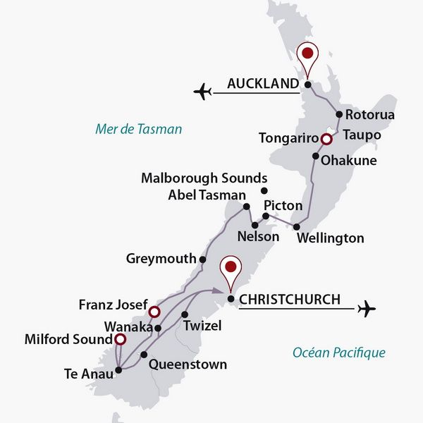 Photo n° 3 Flânerie néo-zélandaise (autotour) - Nouvelle Zélande