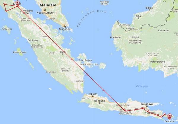 séjour jakarta indonésie