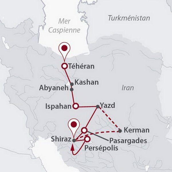 Iran - Circuit Enluminures Persanes avec Qatar Airways