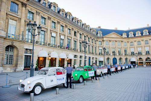 Paris Eternel en 2 CV : visite privée de 45 minutes