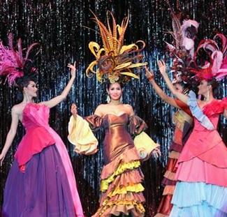 Billet d'entrée au spectacle de cabaret Calypso