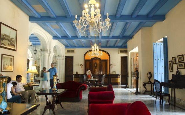 Lobby Santa Isabel